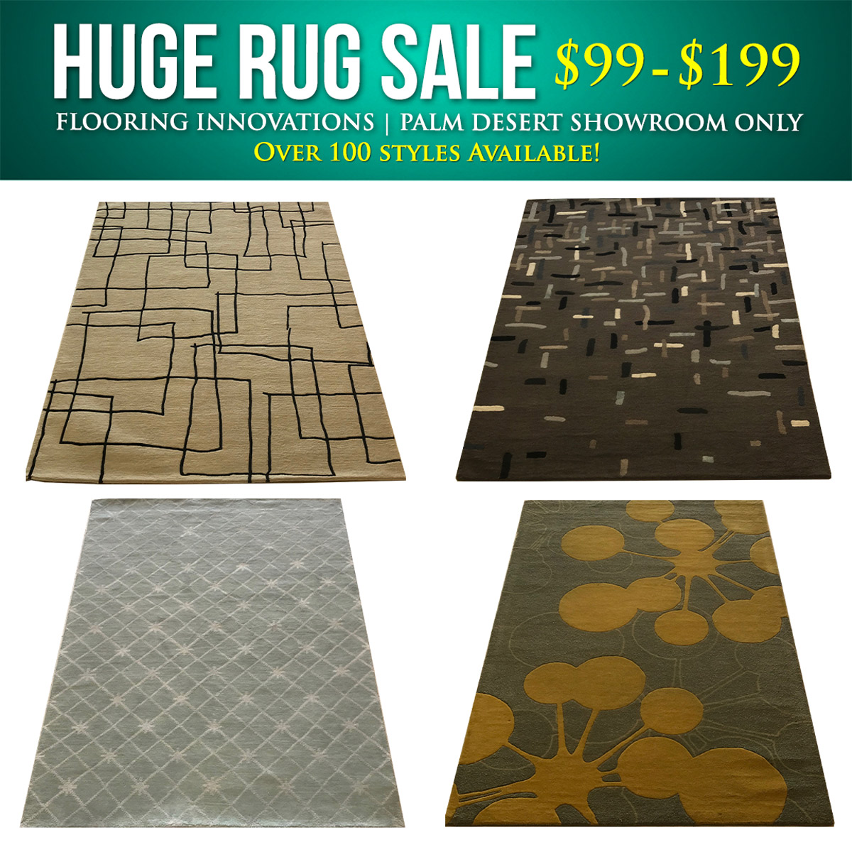 HUGE Area Rug Sale