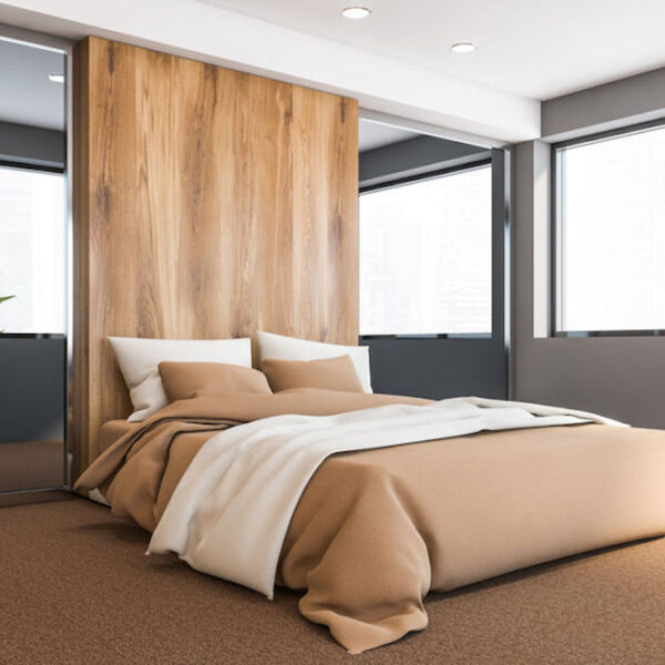 Luxurious Bedroom Carpeting