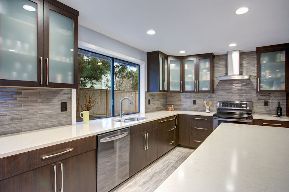 Why Dark, Stained Cabinets Are An Excellent Choice For Your Kitchen