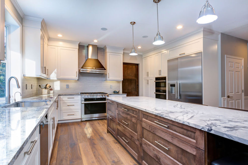 Why You Should Choose Two Different Colors For Your Kitchen Cabinets
