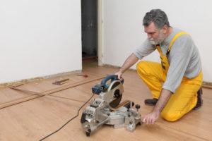 Professional flooring installation